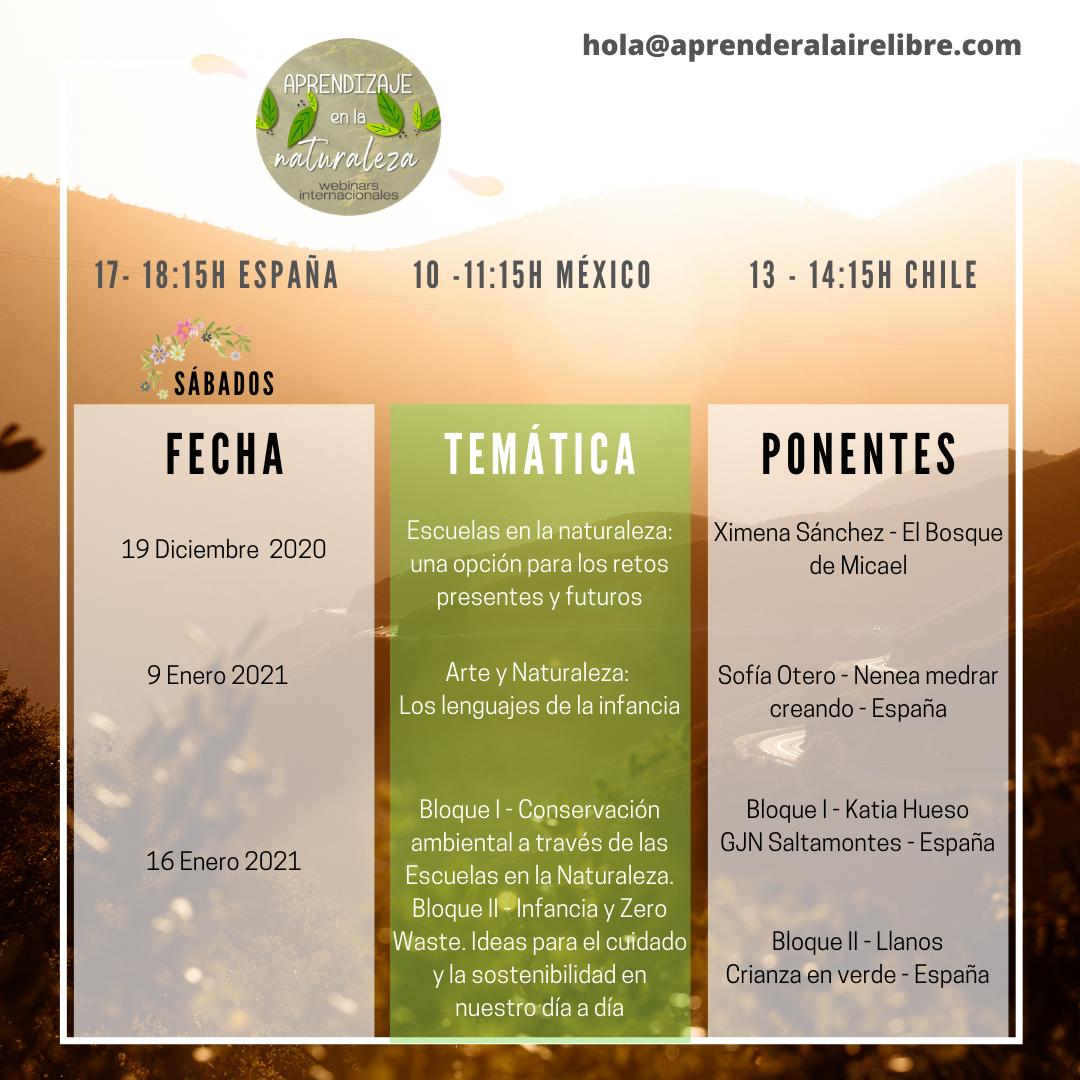 Agenda Diciembre- Enero