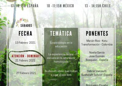 Agenda Febrero - Marzo